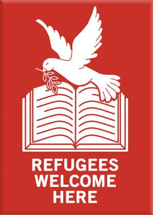 MAG: Refugees Welcome Here New Arrivals!