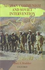 Afghan Communism and Soviet Intervention Central Asian