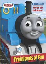Trainloads of Fun (Thomas and Friends) (Jumbo Coloring Book) Preschool