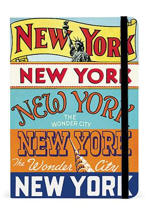 X - NY City Guide Notebook Stationery
