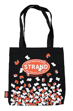 Tote Bag: Falling Books