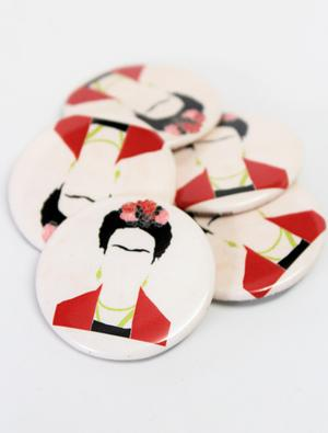 Frida ICON Button Combo (5 Pack)