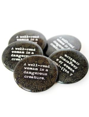 Well Read Woman Button Combo (5 Pack)