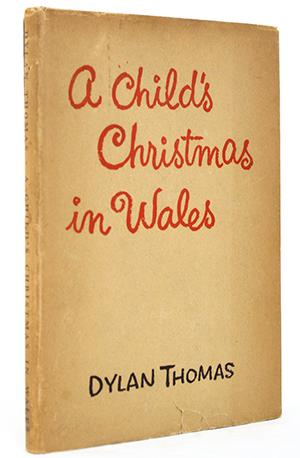 A Child's Christmas in Wales Rare Books - Modern First Edition