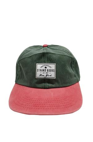 Hat: Green/Red Patch Strand Exclusives