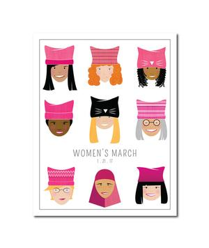 Poster: Women's March Giftware